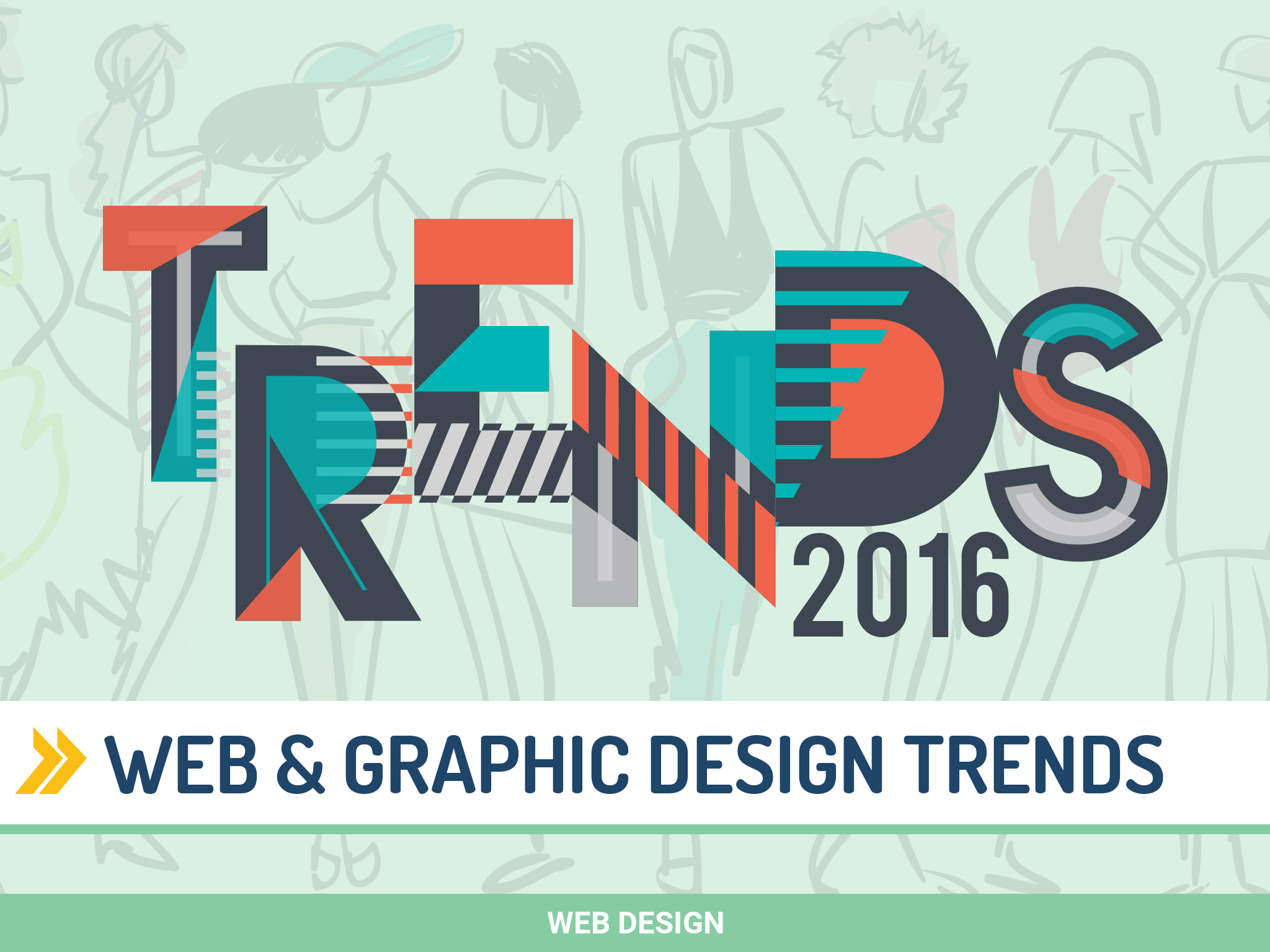 4 top web graphic design trends del 2016 - Famous and new home design trends ...